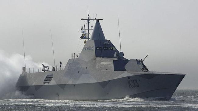 Visbykorvetten HMS Härnösand