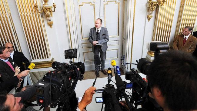 Svenska akademiens ständige sekreterare Peter Englund. Foto: Scanpix