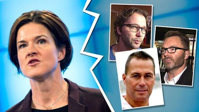 En ny undersökning som SVT låtit göra visar att Moderaterna är splittrat i flyktingfrågan. Många vill begränsa antalet flyktingar – vilket går på tvärs mot partilinjen med Anna Kinberg Batra i spetsen.