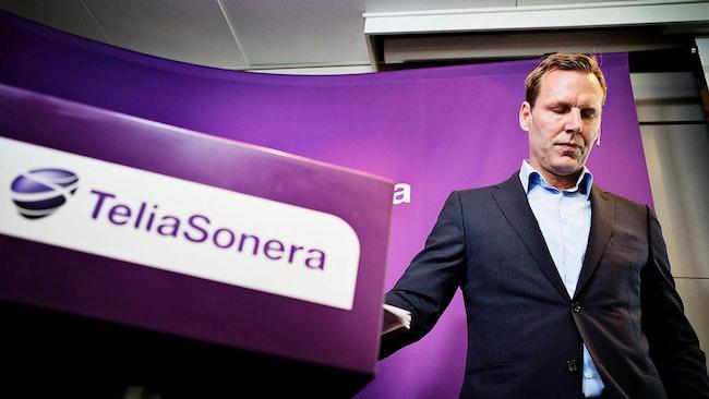 Telia Soneras vd Johan Dennelind.