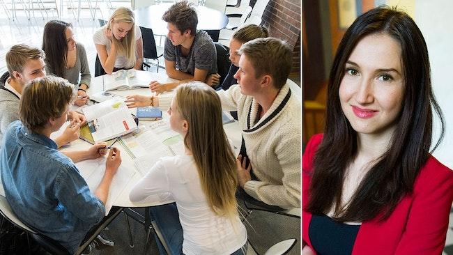Gymnasieminister Aida Hadzialics (S) förslag har tidigare lagts fram av FP.