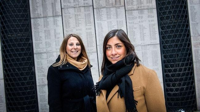 Nadine Geron och Adina Krantz har startat föreningen Zikaron, för att berättelserna om förintelsen inte ska glömmas bort.