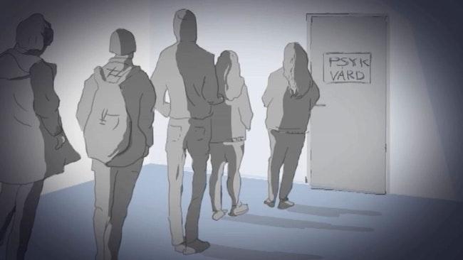 Teckning psykvård