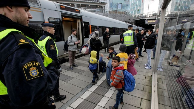Gränskontroll / Sverige