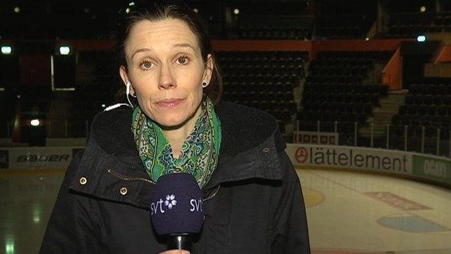 SVTs reporter Anna Quayle