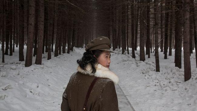 Nordkoreansk soldat.