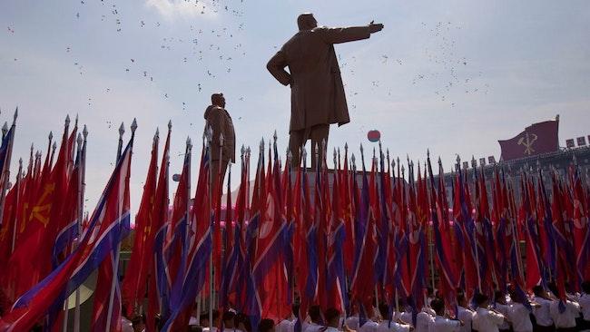 Kim Il Sung-torget i Pyongyang