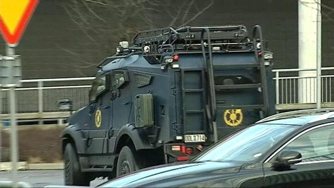 Polisens bombtekniker