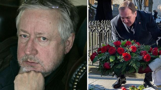 Kriminologen Leif GW Persson är starkt kritisk till Stefan Löfvens uttalande om att han tror att det är Christer Petterson som mördade Olof Palme.