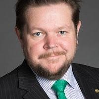 Johan Hedin, rättspolitisk talesperson, Centerpartiet