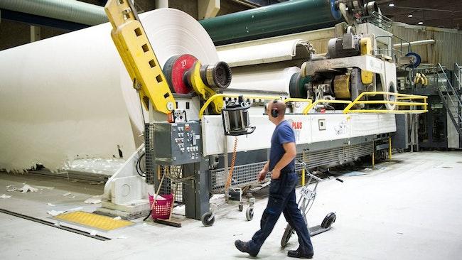 Pappersbruken är en del industrin som omfattas av avtalsförhandlingarna
