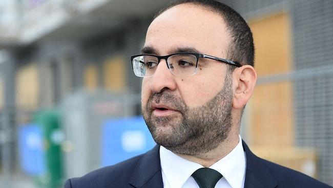 Bostadsminister Mehmet Kaplan (MP).