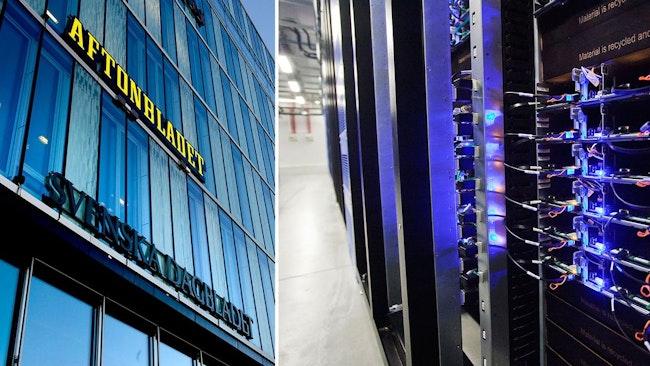 Flera Schibstedt-tidningar drabbades av IT-attacken
