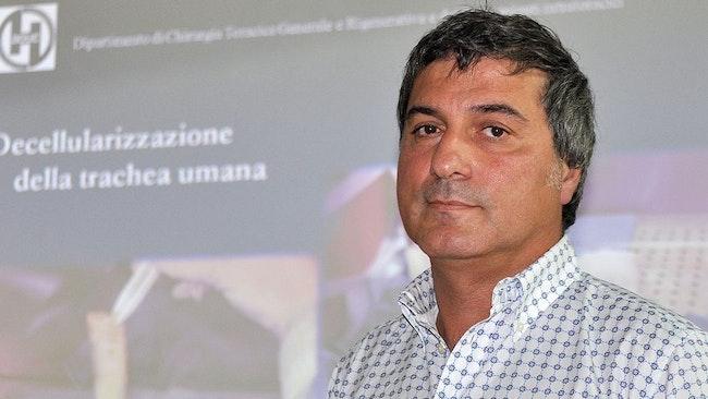 Den italienske stjärnkirurge Paolo Macchiarini arbetade sedan 2010 på KI.