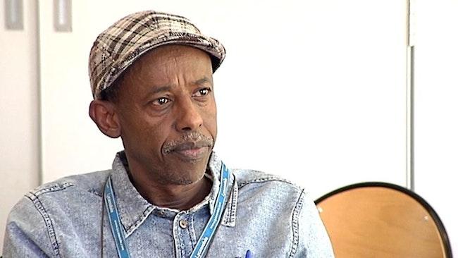 Hashi Abdi, svensk-somaliska vänföreningen i Gårdsten.