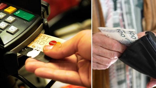 Digitala betalningsmedel tränger undan kontanter allt mer.
