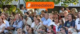 hashtaggen Almedalen