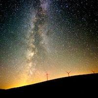 Stjärna, rymden, galax, mjölkvägen