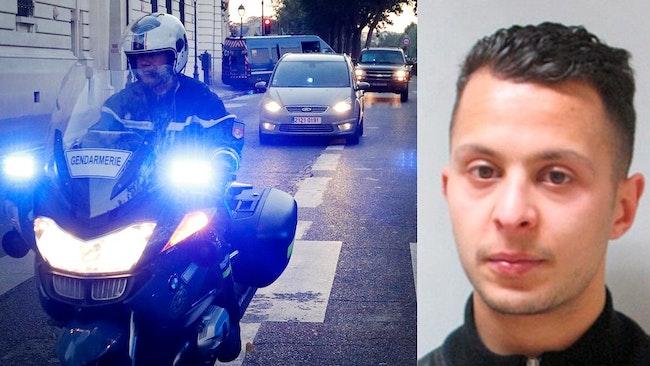 Salah Abdeslam, mannen som pekats ut som den enda överlevande misstänkt för att ha genomfört terrordåden i Paris 13 november förra året.