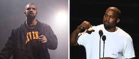 Kanye West säger i en intervju att han för närvarande jobbar med nytt material tillsammans med Drake.