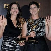 """Regissörerna Laura Ricciardi och Moira Demos fick fyra priser för sin dokumentärserie """"Making a murderer""""."""