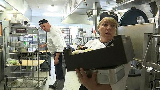 Det svenska kocklaget i hårdträning inför OS i storköksmatlagning