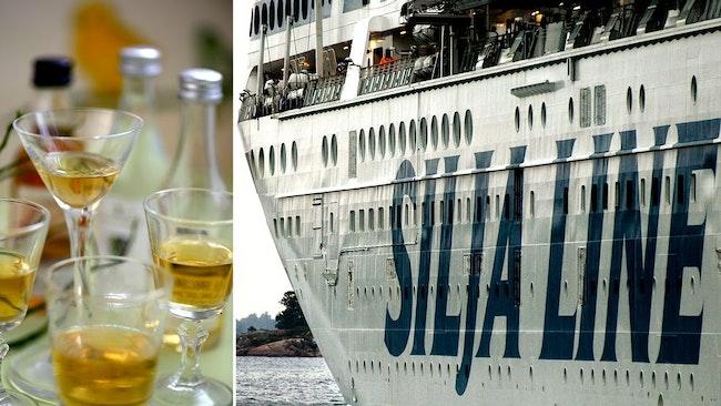 Alkoholstopp, Silja line, tax free