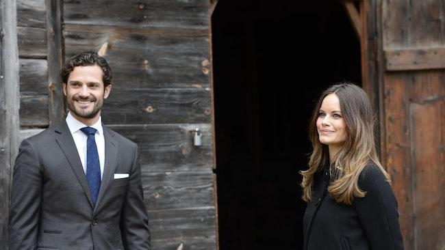 Prinssi Carl-Philip ja prinsessa Sofia