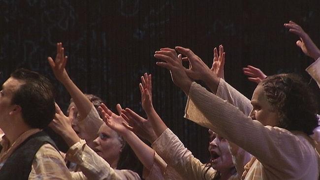Recension av Satyagraha som spelas på Folkoperan i Stockholm