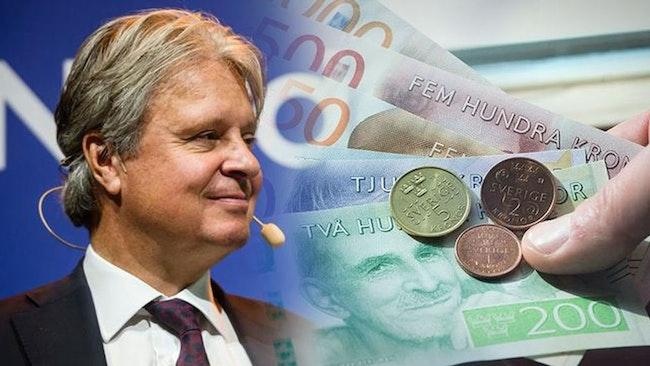 Toppchefers bonusar fortsätter öka