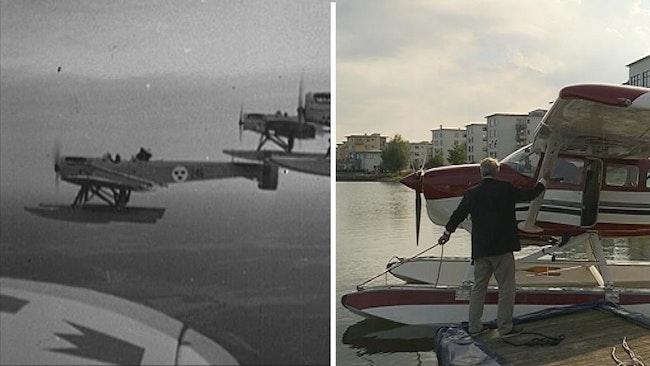 Täby Sjöflygklubb startade sin verksamhet vid Hägernäs 1968