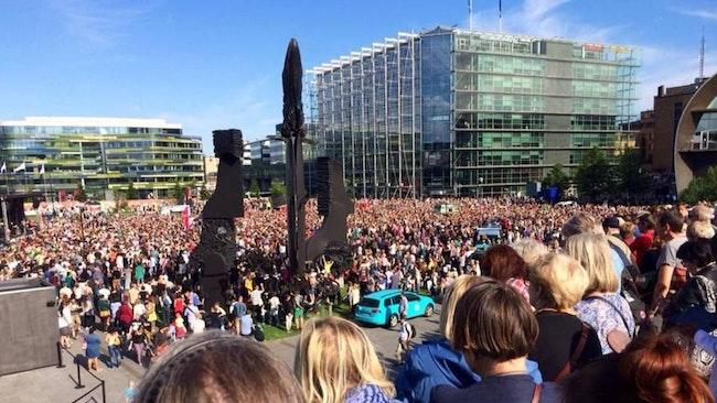 demonstration i Finland