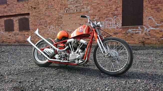 På utställningen är det viktigt att motorcykeln speglar ägarens eller byggarens personlighet.