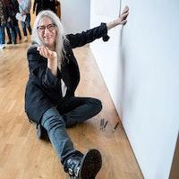 Patti Smith lät kreativiteten flöda över väggarna på Kulturhuset i Stockholm.