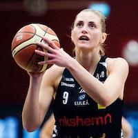 Martina Stålvant var poängbäst.