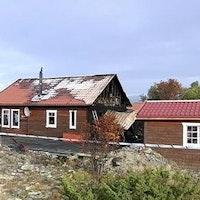 hus i Rovågern täfteå