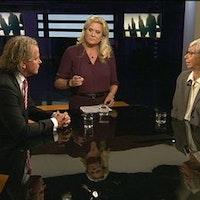 Madeleine Leijonhufvud, professor emerita i straffrätt, debatterar med advokat Björn Sandin.