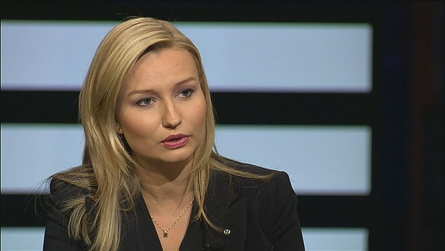 Ebba Busch Thor (KD) i Agenda
