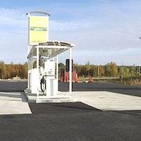 Tankstation, Skellefteå,