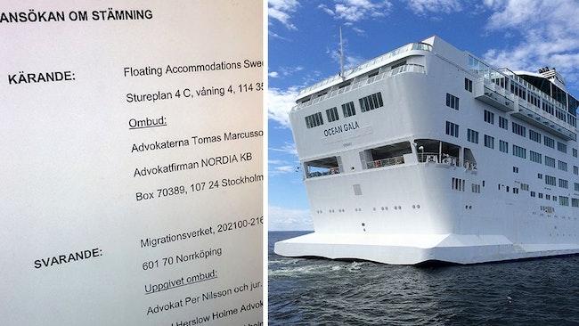 Floating Accommodations stämmer Migrationsverket på 250 miljoner.