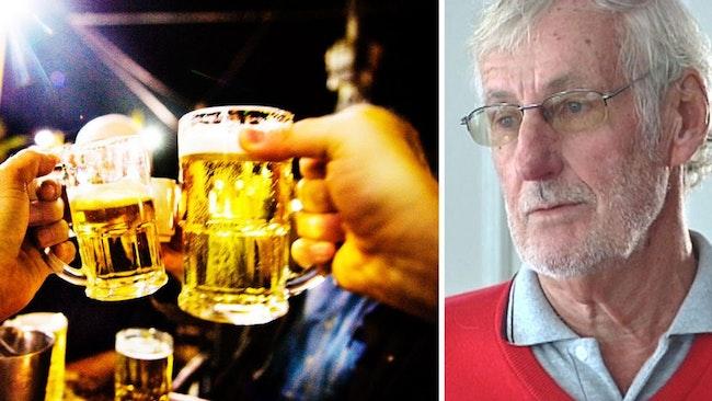 Kenneth Karlegård har levt som nykter alkoholist i 20 år men kämpade innan dess med stora alkoholproblem.