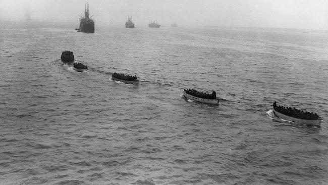 tyska trupper till Ösel