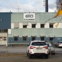 Ålö cylinder, fabrik, ålö