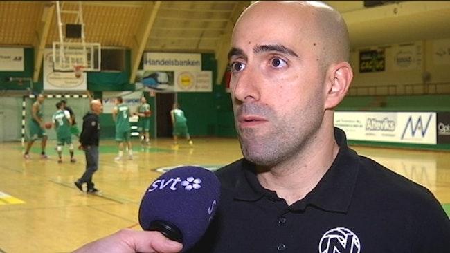 Nässjö basket Raúl Jiménez, tränare