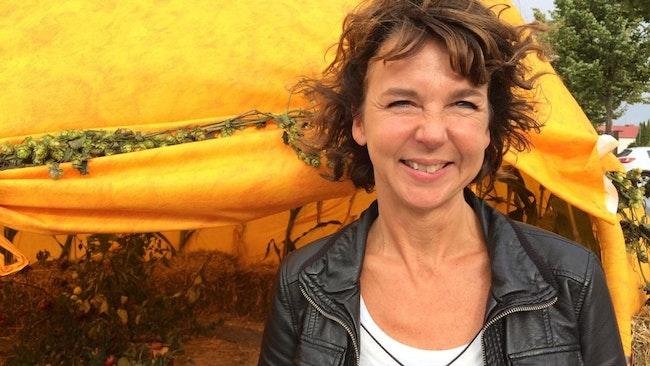 Pia Axelsson från Ölands skördefest