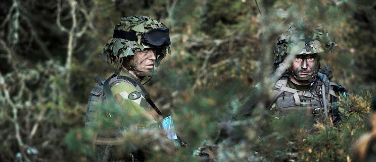 Försvaret, soldat, militär