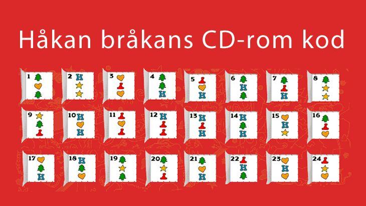 Spelkoder till Håkan Bråkan