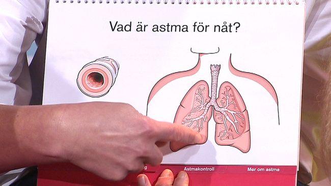 vad är astma