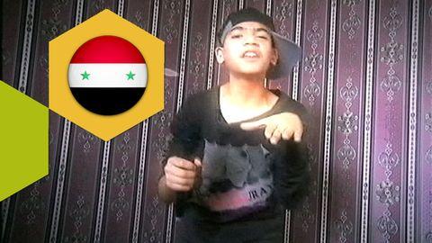 Unge rapparen flydde från Syrien