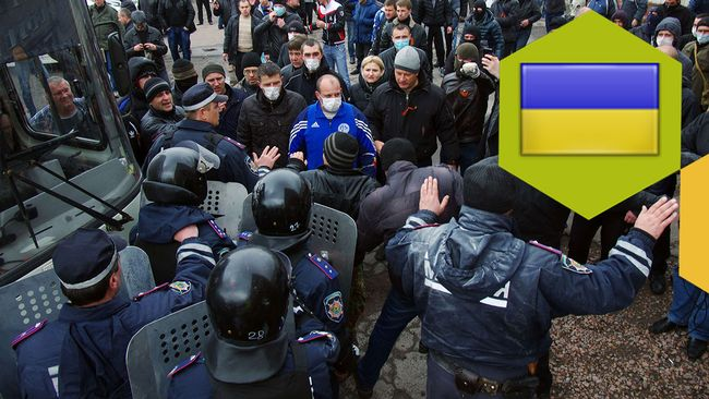 Mer bråk i östra Ukraina